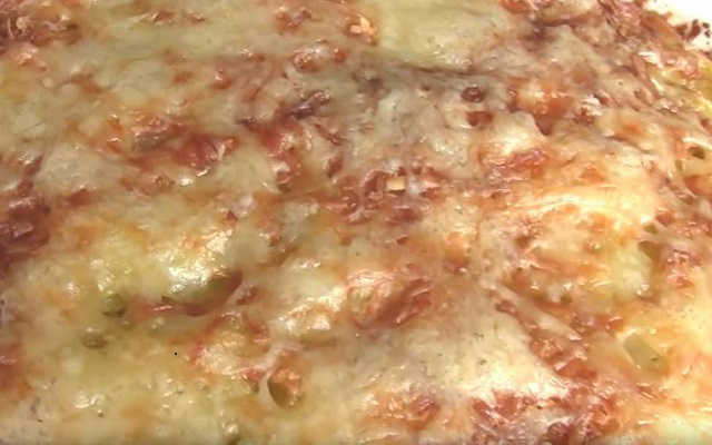 запеканка из картофеля с фаршем готова