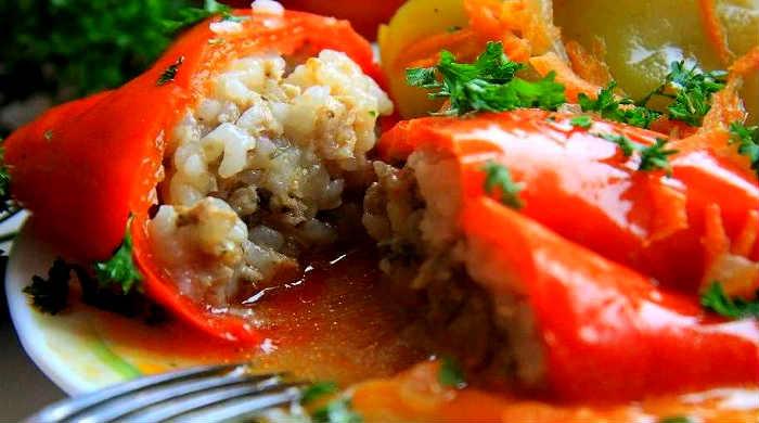 Фаршированный перец с мясом и рисом – 5 простых и вкусных пошаговых рецептов перцев с фаршем