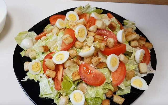 яйца и черри