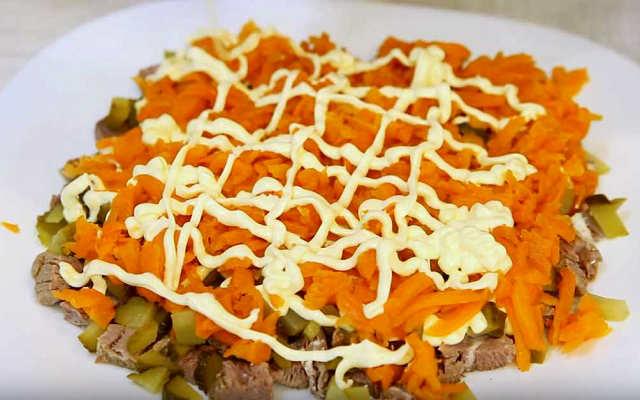 морковь майонез