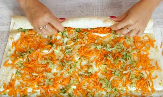 огурец на морковку