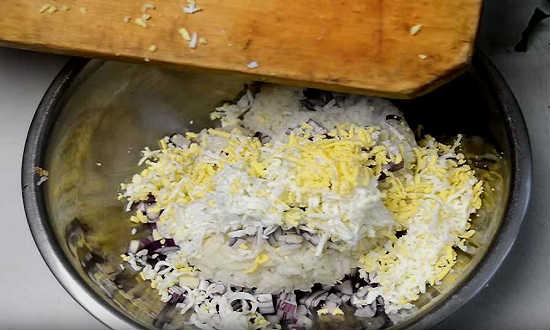 яйца к рису