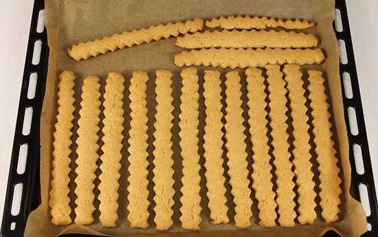 печенье на рассоле готово