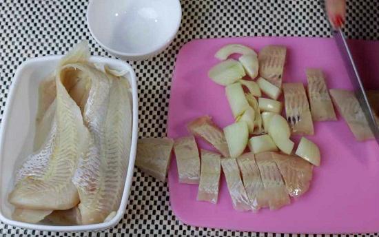 рыба и лук