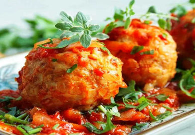 Ленивые голубцы с капустой, рисом и фаршем – Простые вкусные рецепты