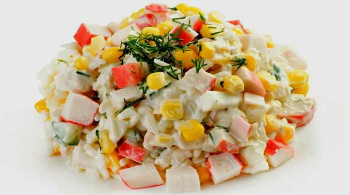 Салат с крабовыми палочками – самые вкусные рецепты крабового салата