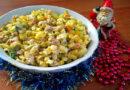 Салат Оливье с говядиной — классический рецепт со свежими и солеными огурцами