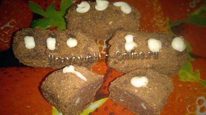 Пирожное «Картошка» из печенья: рецепт со сгущенкой и маслом в домашних условиях